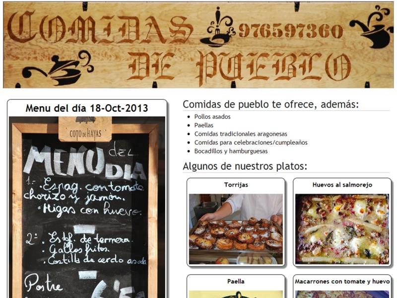 www.comidasdepueblo.es